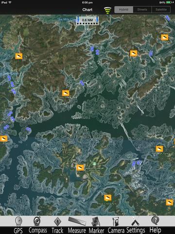 Lake Sidney Lanier Nautical charts pro