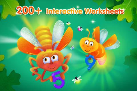 Screenshot 2 Preschool and Kindergarten learning kids games for toddler HD