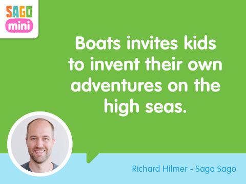 Sago Mini Boats Screenshots