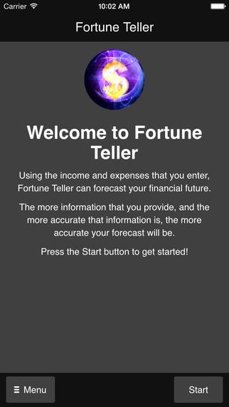 Financial Fortune Teller