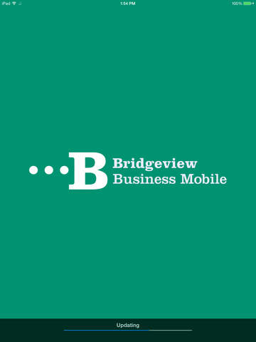 Bridgeview Business Mobile for iPad