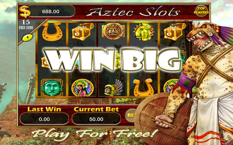 Aztec's gold Treasure slots - Free Casino Game feel Super Jackpot and Win Mega-millions Prizes! screenshot 1