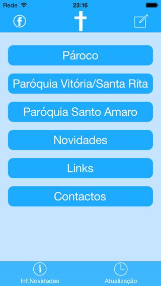 Paróquias SantaRita SantoAmaro