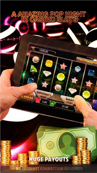 A Amazing Pop Night In Casino Slots - FREE Slot Game Las Vegas A World Series
