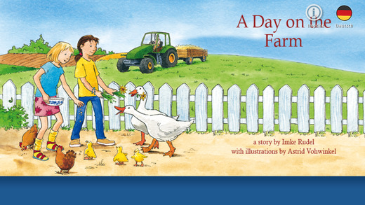 "Pixie-Book ""A Day on the Farm"" for iPhone"