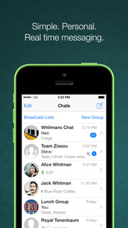 Screenshot #1 for WhatsApp Messenger
