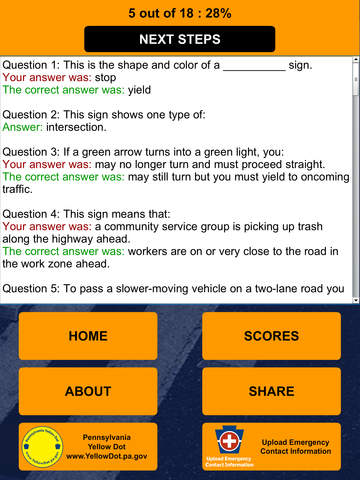 PA Driver's License Practice Test on the App Store