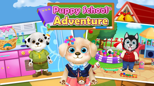 Puppy School Holiday - Pet Adventure Games
