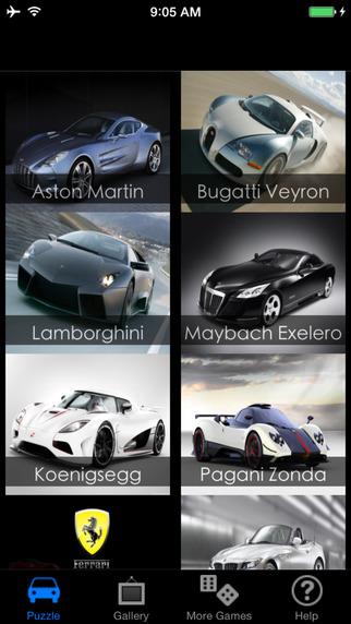 AmazingCars Puzzle