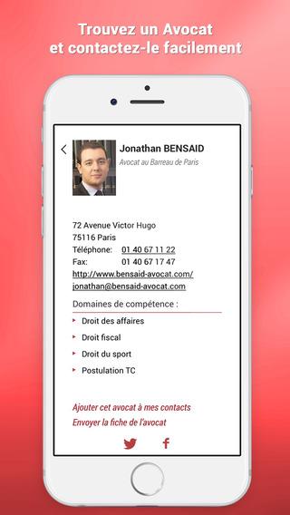 TribunApp - L'application des Avocats - Annuaire d