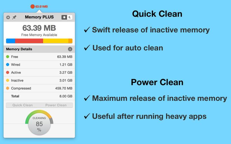 Memory PLUS Screenshot - 2