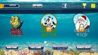 Screenshot 3 Туз Мега Рыба Звездой Покера — игры в карты на двоих казино гранд
