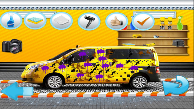 Crazy Taxi Gone Wash: Free HD Car Washing Game