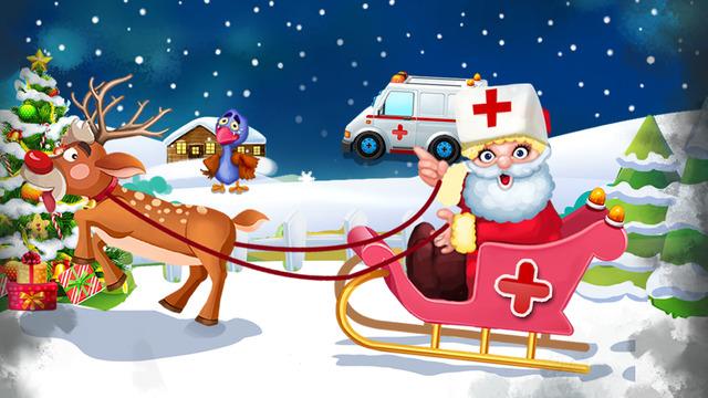 Christmas Santa Rescue - Kids Adventure Games