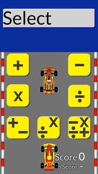 Math Drill Racing