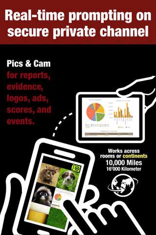 InstaPrompter Secret Live Messaging for Business and Politics - Sender App screenshot 2