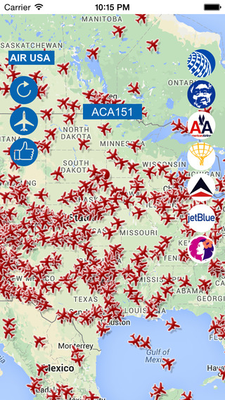 USA Tracker : Live Flight Tracker for USA
