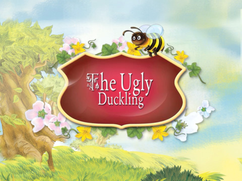 The Ugly Duckling Interactive Danish Fairy Tale by H.C. Andersen iPad Screenshot 1
