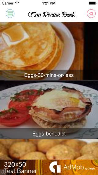 Egg recipes free