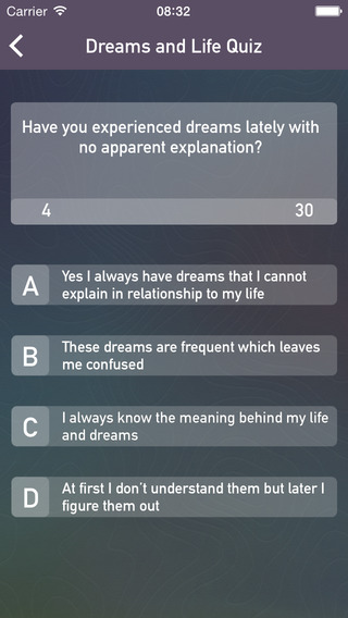 Dream Quiz: Discover Your Dreams and Interpret What They Mean