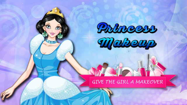 Princess Make-up Salon - Pretty girl makeover game for girls and kids