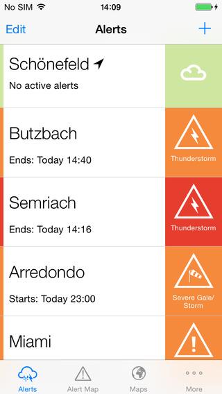 AlertsPro - Severe-weather-centre.co.uk