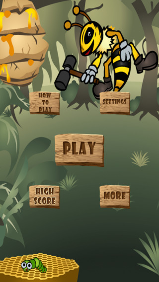 Disco Bees Invasion - Insect Shooting Blast LX