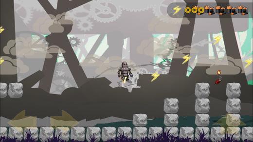 Steel's Adventure - Free Running Game