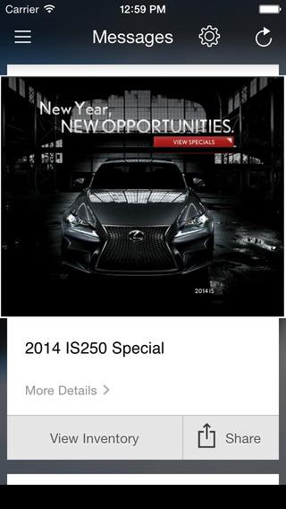 Lexus Of Lehigh Valley DealerApp iPhone Screenshot 3