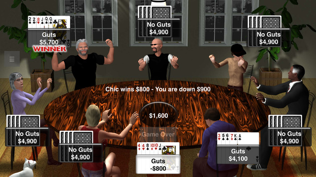 Guts Poker Club