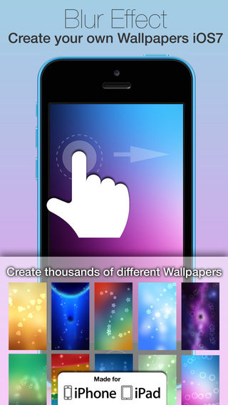 Blur Wallpapers for iOS 7 and iOS 8 :: Design Your Blurred Wallpaper
