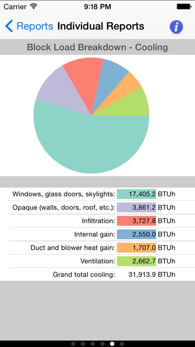 HVAC Residential Load Calcs iPhone Screenshot 2