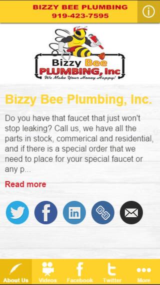 Bizzy Bee Plumbing Inc