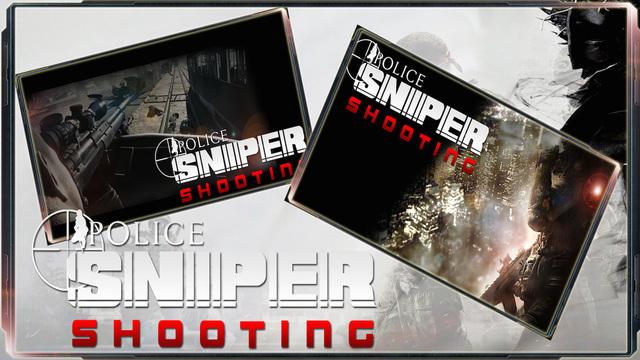 Police Sniper Shooting : Advance Battle