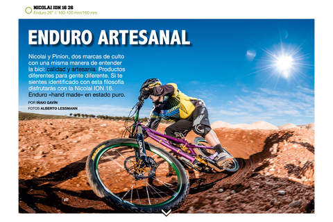 MTBpro Magazine screenshot 4