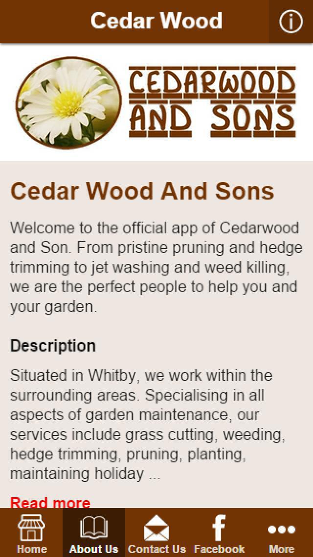 App Shopper Cedar Wood And Son Business
