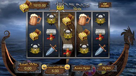 AAA Norseman Slots Viking Party Casino - Free Mania Game