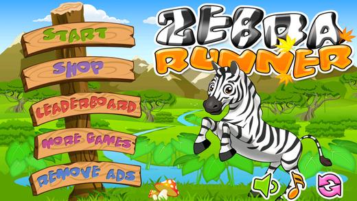 Zebra Runner- Addictive Endless Running Game