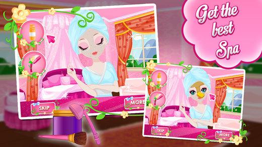 Princess Beauty Secrets - Spa Makeover Make Up Dress Up Salun