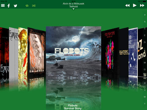 CoverFlow HD iPad Screenshot 2