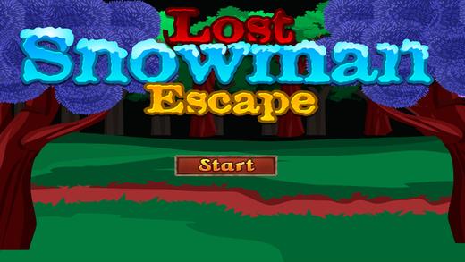 Lost Snowman Escape Screenshot