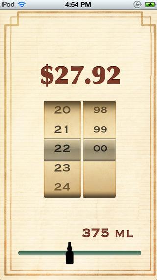 WA Spirits Tax Calculator