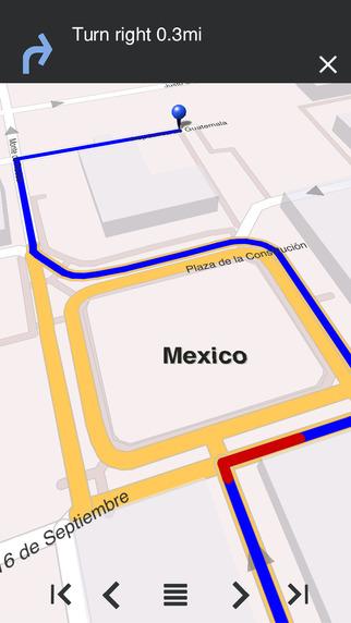 Mexico - Offline Map City Guide w metro