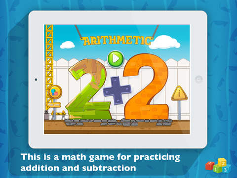 Arithmetic: Educational learning app to practice addition and subtraction learn first operation with