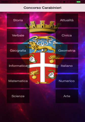 Quiz Carabinieri screenshot 1