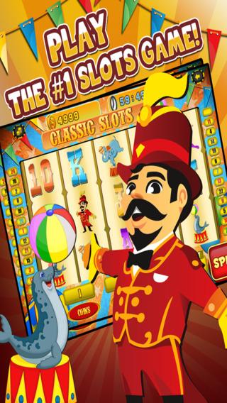 Ace Circus Vegas Slots - Lucky Big Win Classic Jackpot Slot Machine Casino Games Free