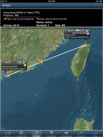 Taiwan Taoyuan Airport + Flight Tracker HD air eva China airlines