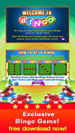 Our Bingo Pop - Play Online Casino and Number Card Game for FREE