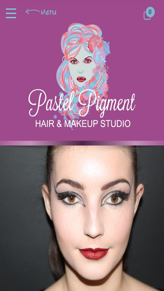 Pastel Pigment Hair Makeup
