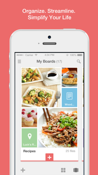 ClipUp - Collect Organise and Present images videos websites and text notes